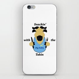 Snackin' with the Takin iPhone Skin