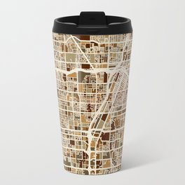 Las Vegas City Street Map Travel Mug
