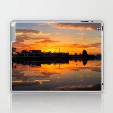 Sunrise arcross the water Laptop & iPad Skin