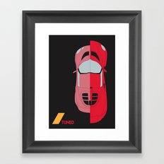 Drive - Tuned Framed Art Print