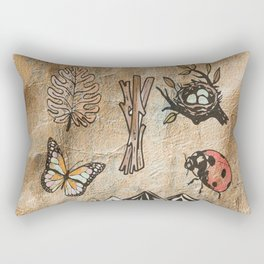 Aesthate - someone with deep sensitivity to the beauty of art or nature Rectangular Pillow