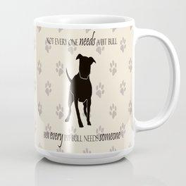 Love is a pit bull No. 8 Coffee Mug