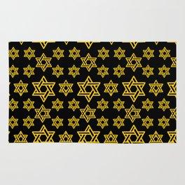 Star of David Pattern Rug