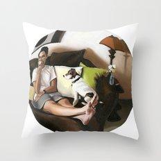 3:58 PM Throw Pillow