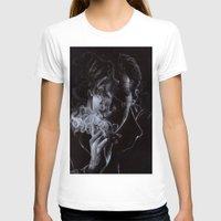 benedict cumberbatch T-shirts featuring BENEDICT CUMBERBATCH II by theredgrassofgallifrey