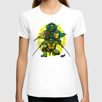 tmnt T-shirts featuring TMNT by Alex Trinidad Art
