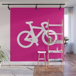 Pink Bike Wall Mural