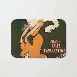 Vintage poster - Devil's Auction Bath Mat