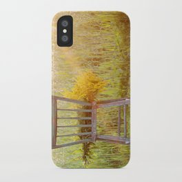 Remnants of a Summer Day iPhone Case