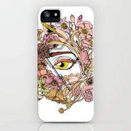 Hidden Beauty iPhone Case