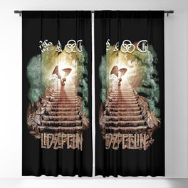 Red Zeppelin - Stairway to Heaven Blackout Curtain