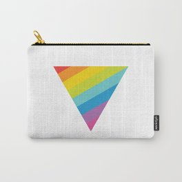 Pride: Rainbow Triangle Carry-All Pouch