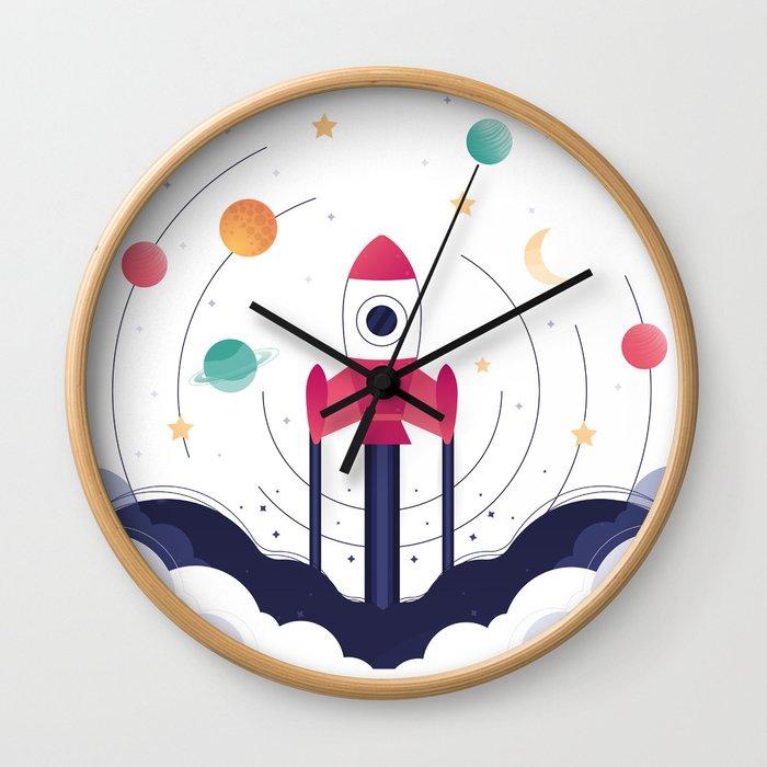 COSMODOG : Planetarium Wall Clock