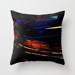 Spinning I - Waltzer Throw Pillow