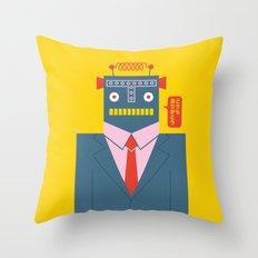 Mr. Roboto Throw Pillow