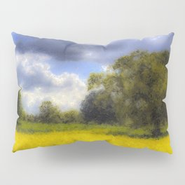 The Monet Farm Pillow Sham
