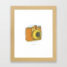 So Analog - Agfa Clack Retro Vintage Camera Framed Art Print