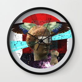 Wonder Wood Dream Mountains - The Demon Cleaner Series · You Got Me Floatin´ · Crop Circle Wall Clock
