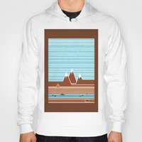 canada Hoodies featuring Canada. by Grant Pearce