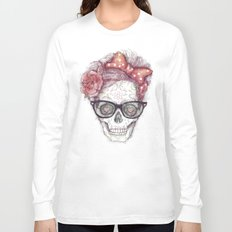 Hipster Girl is Dead Long Sleeve T-shirt