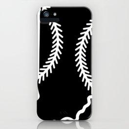 Indiana Baseball USA State Pride iPhone Case