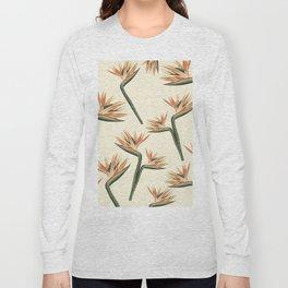 Birds of Paradise Flowers Long Sleeve T-shirt