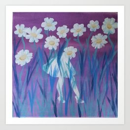Pretty Things [Disappear] Art Print