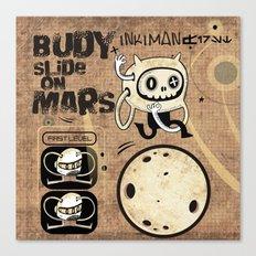Budy slide on Mars Canvas Print