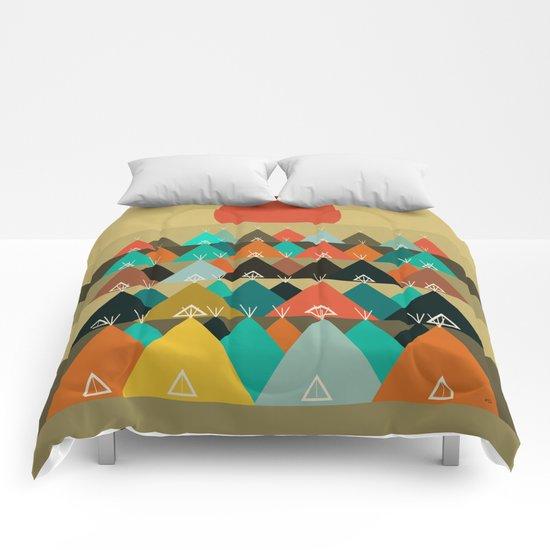 Tipi Moon Comforters