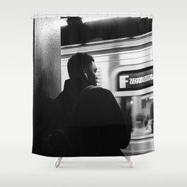 Subway Life II Shower Curtain