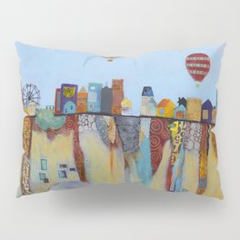 """Over and Under"" Pillow Sham"