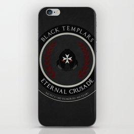 Black Templars Style iPhone Skin