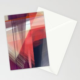 Abstract 391 Stationery Cards