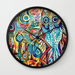 NightOwl3 Wall Clock