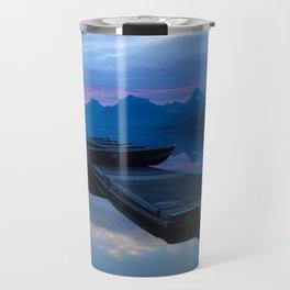 Lake MacDonald Morning Travel Mug