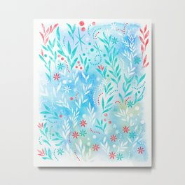 The scent of sunlight <breeze blue> Metal Print