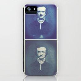Edgar Allan Poe Horrible Sanity iPhone Case