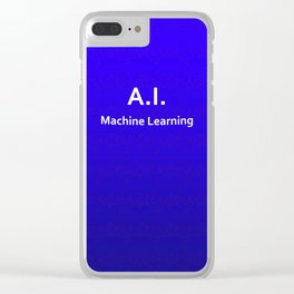 A.I. Machine Learning Clear iPhone Case