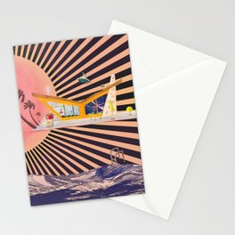 Atomic Age Social Distancing Stationery Cards