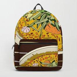 Singapore Laksa Noodle Backpack