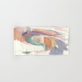 Abstract Southwestern Canyon Watercolor With Bright Colors Hand & Bath Towel