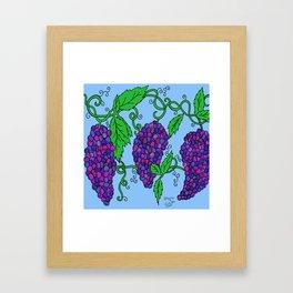 Chaotic Vines Framed Art Print