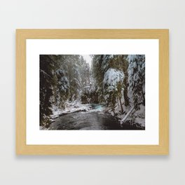 A Quiet Place - Pacific Northwest Nature Photography Framed Art Print