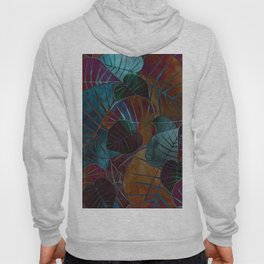 Abstract Leaves Hoody