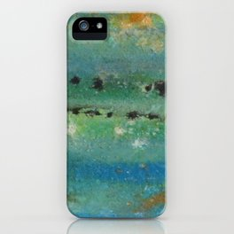 Eroded Planet iPhone Case