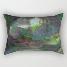 Elven Forest Rectangular Pillow
