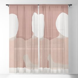 Looking Forward Sheer Curtain
