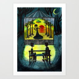 one another Art Print