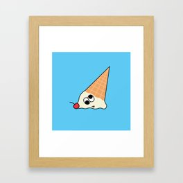 Goofy Foods - Goofy Ice Cream Framed Art Print