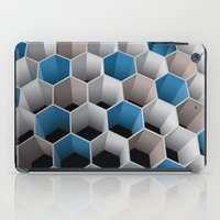 honeycomb iPad Cases featuring Honeycomb by amanvel